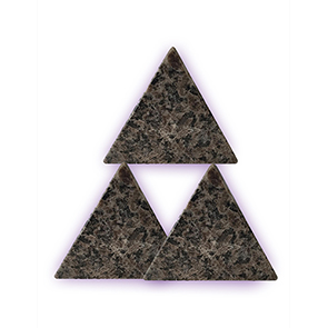 PET- Spotted Granite -Set of 3